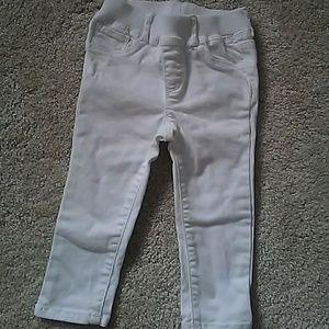 Gap girls white jeans
